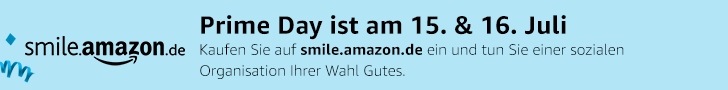 Banner - PrimeDay Amazon Smile - Juli 2019